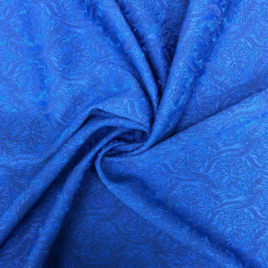 Brocad Royal Blue