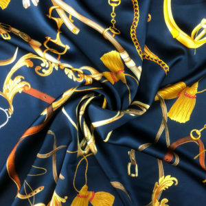Printed Silk Satin 13