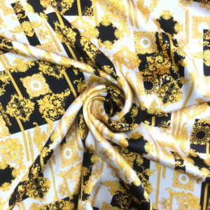 Printed Silk Satin 15