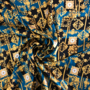 Printed Silk Satin 8