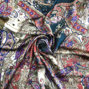 Printed Silk Satin 9