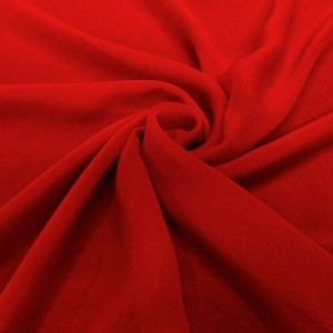 georgette-red